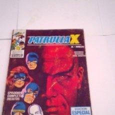 Cómics: PATRULLA X - VERTICE - VOLUMEN 1 - NUMERO 6 - 25 PESETAS - BUEN ESTADO -CJ 75 - GORBAUD. Lote 174208955