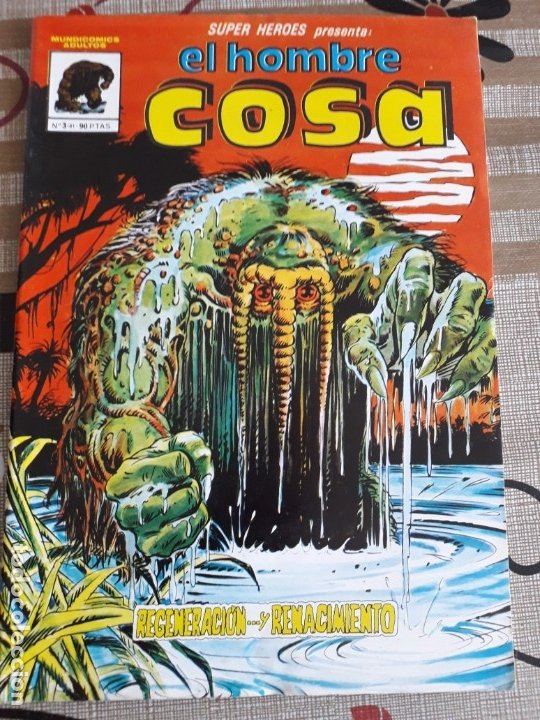 SUPER HEROES EL HOMBRE COSA N-3 BUEN ESTADO (Tebeos y Comics - Vértice - Surco / Mundi-Comic)