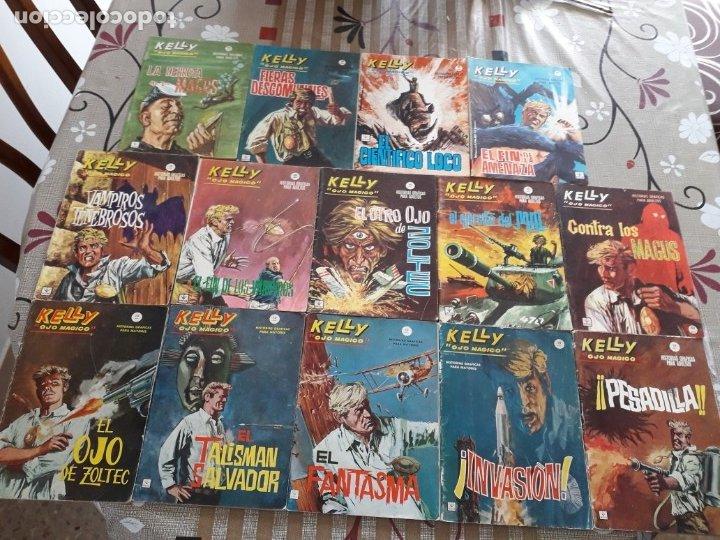KELLY OJO MAGICO 1 AL 15 COMPLETA A FALTA DEL N-10 BUEN ESTADO VER FOTOS (Tebeos y Comics - Vértice - Fleetway)