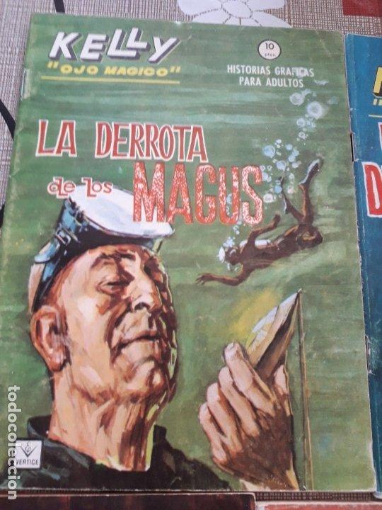 Cómics: KELLY OJO MAGICO 1 AL 15 COMPLETA A FALTA DEL N-10 BUEN ESTADO VER FOTOS - Foto 5 - 174306755