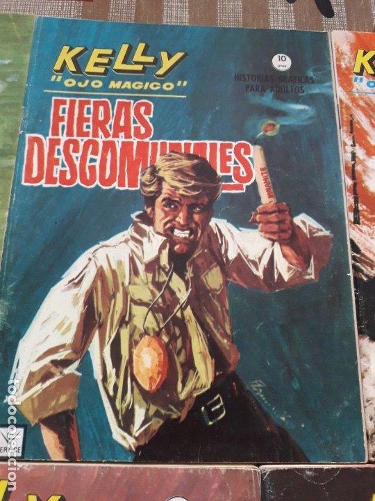 Cómics: KELLY OJO MAGICO 1 AL 15 COMPLETA A FALTA DEL N-10 BUEN ESTADO VER FOTOS - Foto 6 - 174306755