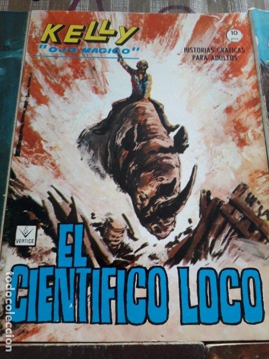 Cómics: KELLY OJO MAGICO 1 AL 15 COMPLETA A FALTA DEL N-10 BUEN ESTADO VER FOTOS - Foto 7 - 174306755
