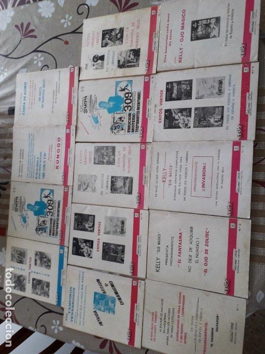 Cómics: KELLY OJO MAGICO 1 AL 15 COMPLETA A FALTA DEL N-10 BUEN ESTADO VER FOTOS - Foto 11 - 174306755