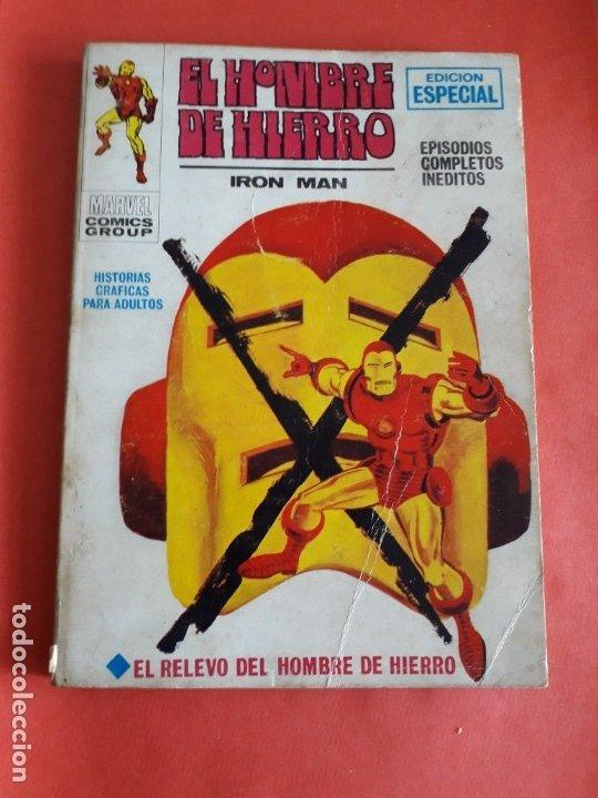 HOMBRE DE HIERRO N-9 (Tebeos y Comics - Vértice - Hombre de Hierro)