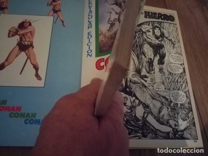 Cómics: 3 TOMOS ANTOLOGÍA DEL COMIC CONAN 1 , 3 y 5 VERTICE BUEN ESTADO - Foto 4 - 174333622