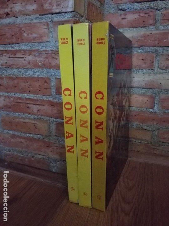 Cómics: 3 TOMOS ANTOLOGÍA DEL COMIC CONAN 1 , 3 y 5 VERTICE BUEN ESTADO - Foto 5 - 174333622
