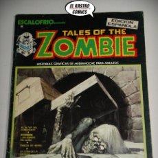 Comics: TALES OF THE ZOMBIE Nº 1 (ESCALOFRÍO Nº 2), ED. VÉRTICE AÑO 1973. Lote 174423574