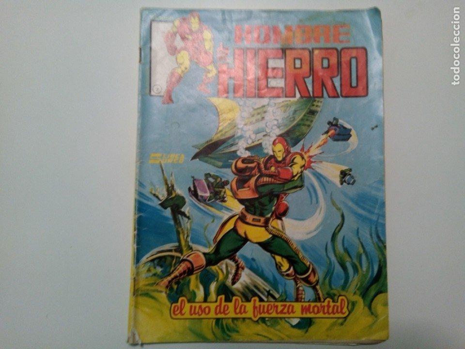 COMIC HOMBRE DE HIERRO, EL USO DE LA FUERZA MORTAL, Nº7 (Tebeos y Comics - Vértice - Surco / Mundi-Comic)