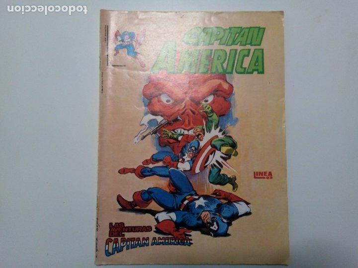 COMIC CAPITÁN AMÉRICA, LAS AVENTURAS DEL CAPITÁN AMÉRICA, Nº4 (Tebeos y Comics - Vértice - Surco / Mundi-Comic)