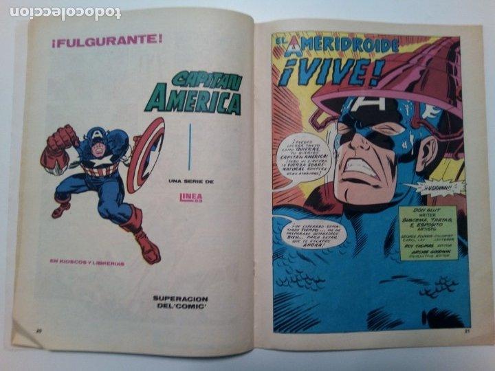 Cómics: Comic Capitán América, Las aventuras del Capitán América, nº4 - Foto 4 - 174456910