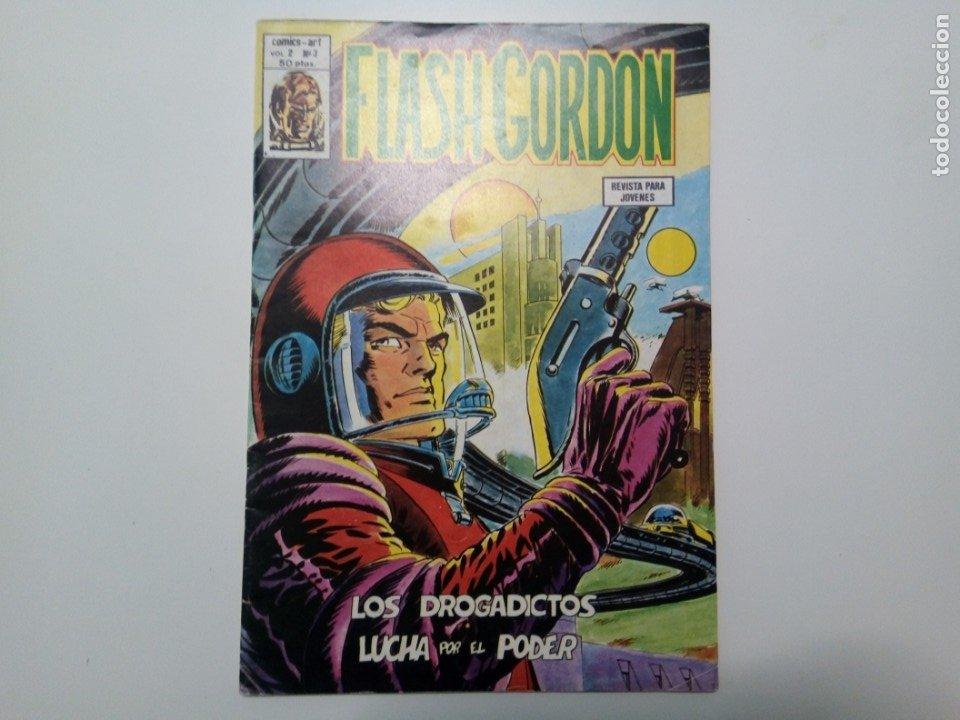 COMIC FLASH GORDON, VOL.2, Nº3, LOS DROGADICTOS Y LUCHA POR EL PODER (Tebeos y Comics - Vértice - Flash Gordon)