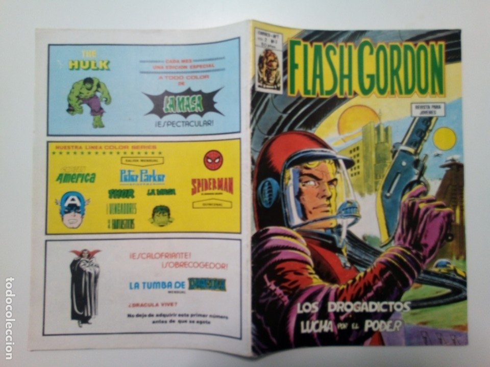 Cómics: Comic Flash Gordon, vol.2, nº3, Los drogadictos y Lucha por el poder - Foto 3 - 174461310