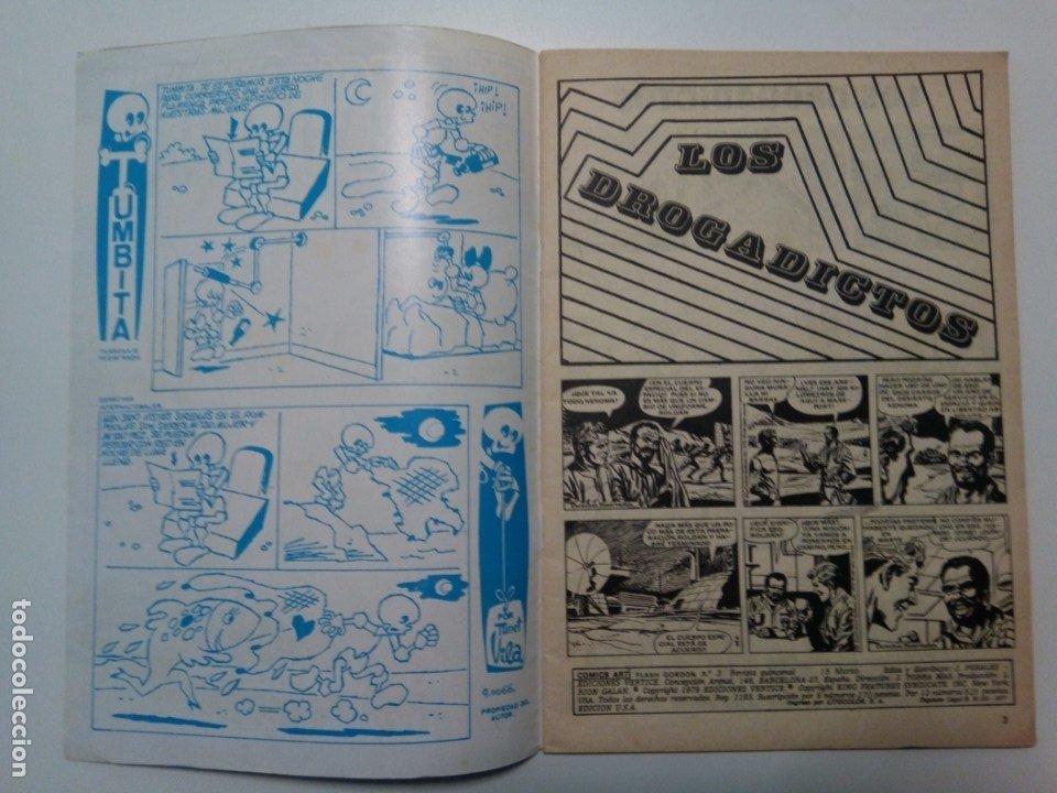 Cómics: Comic Flash Gordon, vol.2, nº3, Los drogadictos y Lucha por el poder - Foto 4 - 174461310