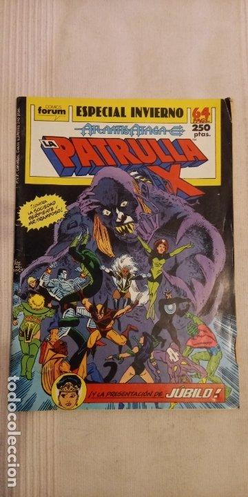 LA PATRULLA X. ESPECIAL INVIERNO, ATLANTIS ATACA (Tebeos y Comics - Vértice - Patrulla X)
