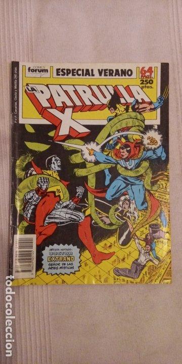 LA PATRULLA X ESPECIAL VERANO 1989 (Tebeos y Comics - Vértice - Patrulla X)
