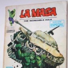 Cómics: LA MASA (VERTICE TACO) Nº 01 :LA INCREIBLE MASA. Lote 174656399