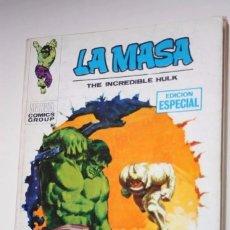 Cómics: LA MASA (VERTICE TACO) Nº 02 : UN MONSTRUO ANDA SUELTO. Lote 174657652