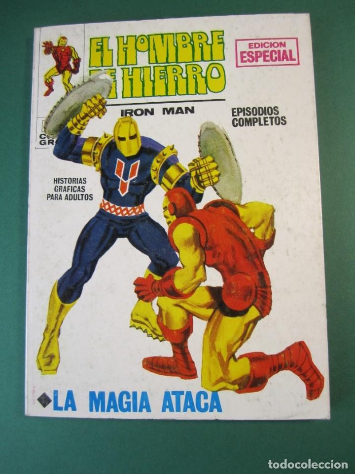 IRON MAN (1969, VERTICE) -EL HOMBRE DE HIERRO- 3 · 1969 · LA MAGIA ATACA (Tebeos y Comics - Vértice - Hombre de Hierro)