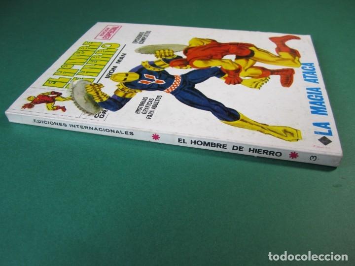 Cómics: IRON MAN (1969, VERTICE) -EL HOMBRE DE HIERRO- 3 · 1969 · LA MAGIA ATACA - Foto 3 - 175016210