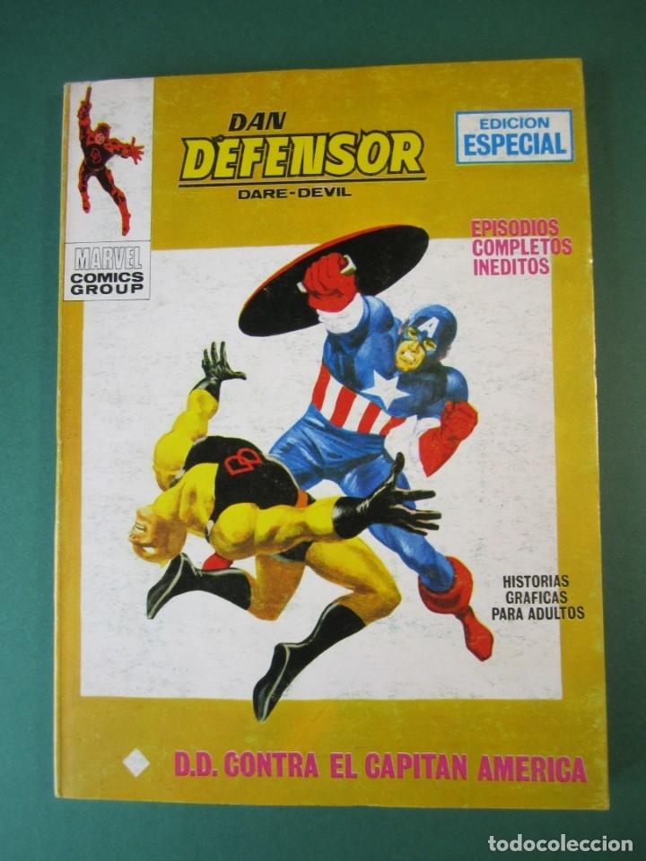 DAREDEVIL (1969, VERTICE) -DAN DEFENSOR- 17 · 1969 · D. D. CONTRA EL CAPITAN AMERICA (Tebeos y Comics - Vértice - Dan Defensor)