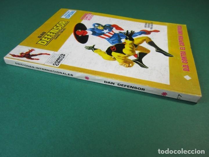 Cómics: DAREDEVIL (1969, VERTICE) -DAN DEFENSOR- 17 · 1969 · D. D. CONTRA EL CAPITAN AMERICA - Foto 3 - 175023407