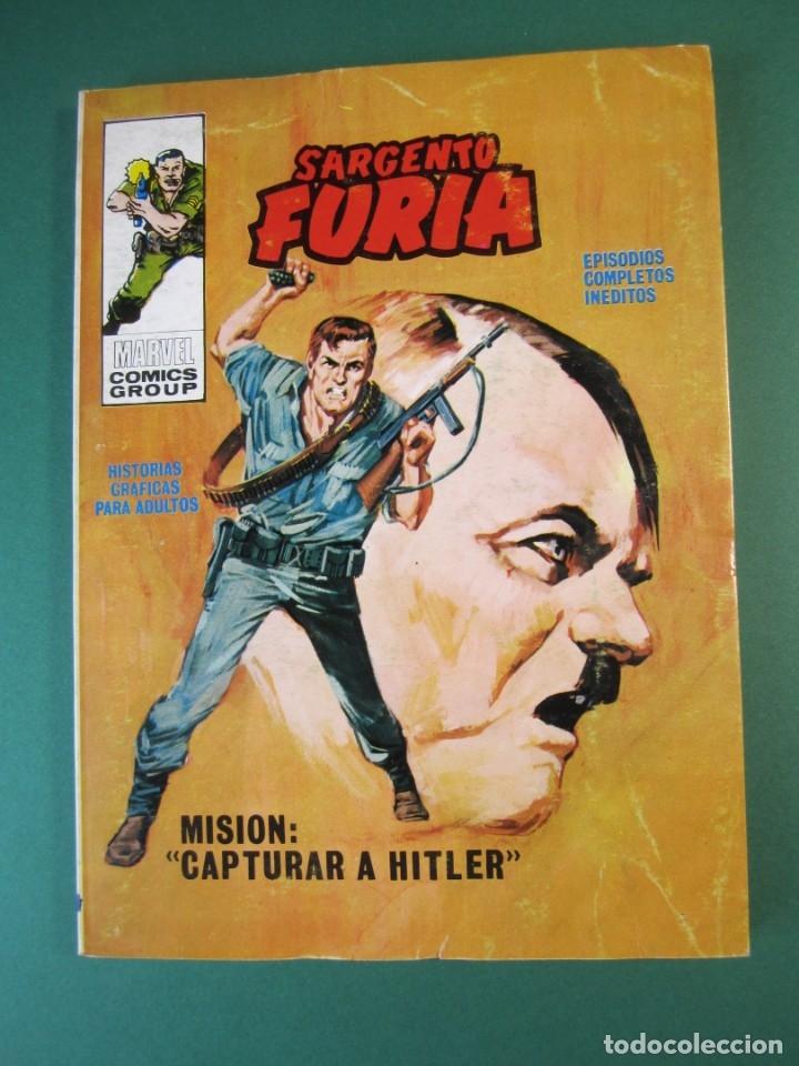 SARGENTO FURIA (1972, VERTICE) 5 · 1972 · MISIÓN: CAPTURAR A HITLER (Tebeos y Comics - Vértice - Furia)