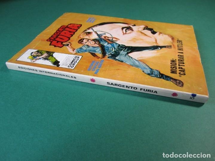 Cómics: SARGENTO FURIA (1972, VERTICE) 5 · 1972 · MISIÓN: CAPTURAR A HITLER - Foto 3 - 175026869