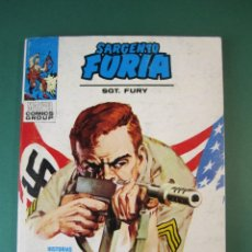 Cómics: SARGENTO FURIA (1972, VERTICE) 4 · 1972 · CONSEJO DE GUERRA. Lote 175028605