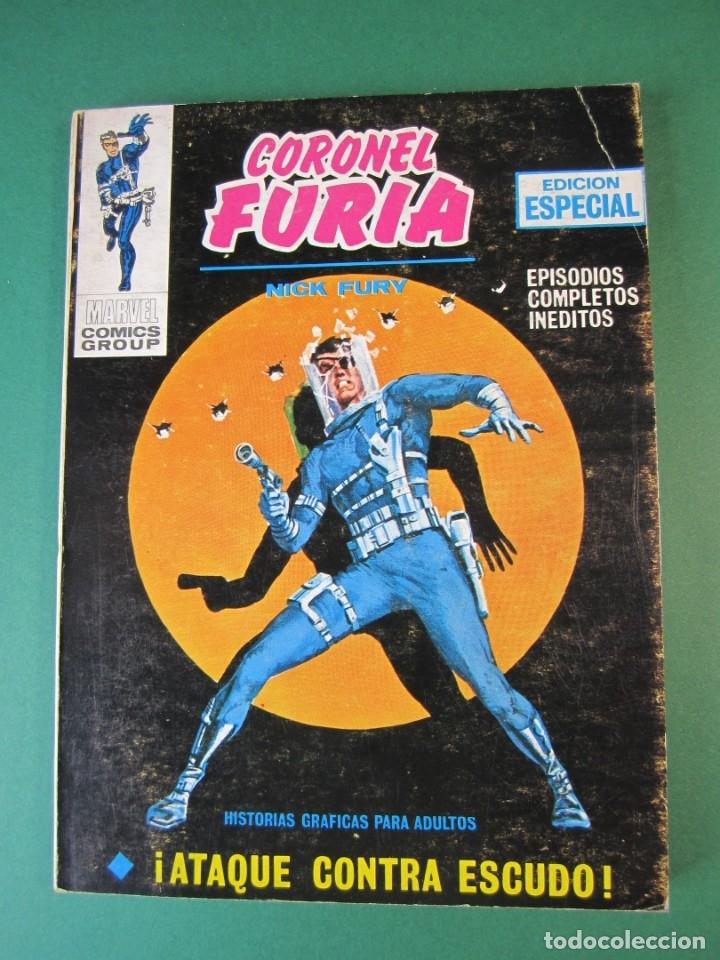 CORONEL FURIA (1970, VERTICE) 11 · 1971 · ATAQUE CONTRA ESCUDO (Tebeos y Comics - Vértice - Furia)