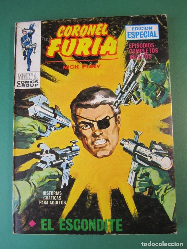 CORONEL FURIA (1970, VERTICE) 14 · 1972 · EL ESCONDITE (Tebeos y Comics - Vértice - Furia)