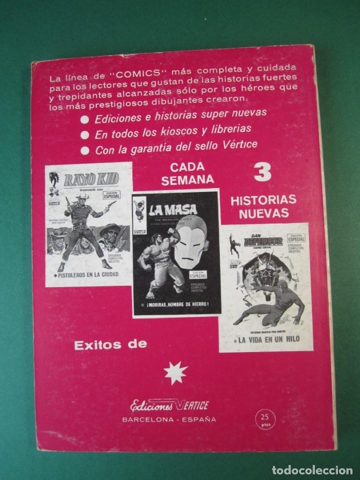 Cómics: CORONEL FURIA (1970, VERTICE) 14 · 1972 · EL ESCONDITE - Foto 2 - 175029007