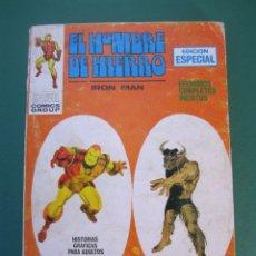 Cómics: IRON MAN (1969, VERTICE) -EL HOMBRE DE HIERRO- 10 · 1969 · CONTRA EL MINOTAURO. Lote 175063930