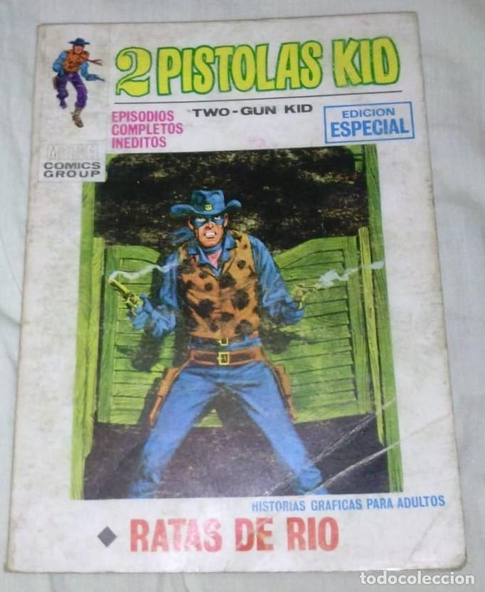 2 PISTOLAS KID Nº 9 - RATAS DE RÍO - VOLÚMEN 1 D20 (Tebeos y Comics - Vértice - Otros)