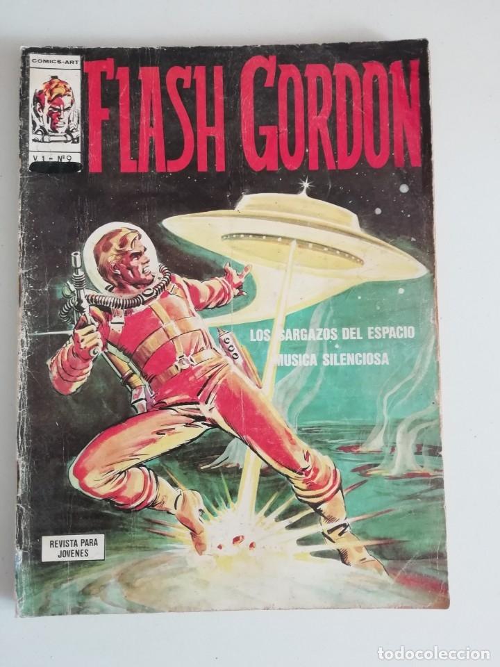 FLASH GORDON V1 NUM.9 (Tebeos y Comics - Vértice - Flash Gordon)