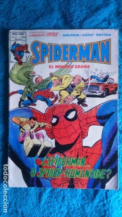 SPIDERMAN (Tebeos y Comics - Vértice - V.3)