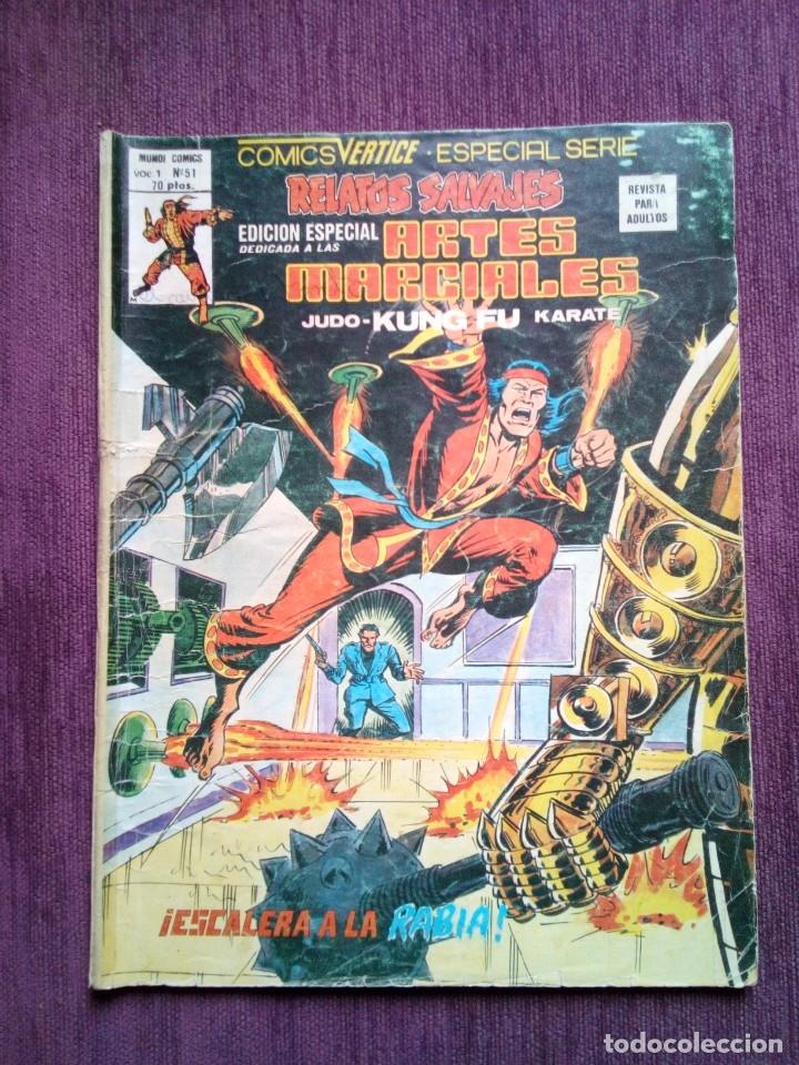 RELATOS SALVAJES 51 VERTICE (Tebeos y Comics - Vértice - Relatos Salvajes)