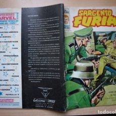 Cómics: SARGENTO FURIA - V 2 - NÚMERO 5 - VERTICE. Lote 185299243