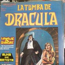 Cómics: LA TUMBA DE DRACULA,ESCALOFRIO,EDICIONES VÉRTICE. Lote 175405063