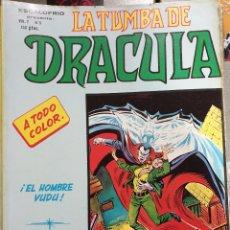 Cómics: LA TUMBA DE DRACULA, ESCALOFRIO,EDICIONES VÉRTICE. Lote 175421464
