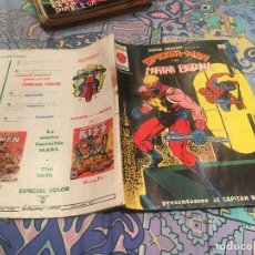 Cómics: SUPER HEROES PRESENTA VOL.2 Nº 91 SPIDERMAN Y EL CAPITAN BRITANIA - VERTICE. Lote 175603620