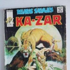 Cómics: RELATOS SALVAJES KAZAR V1 NUM.12. Lote 175646517
