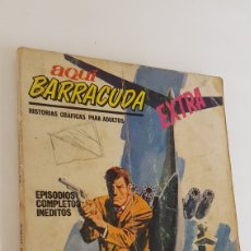 Cómics: AQUÍ BARRACUDA EXTRA (VERTICE TACO) Nº 9 : LA SECTA SINIESTRA. Lote 175656728