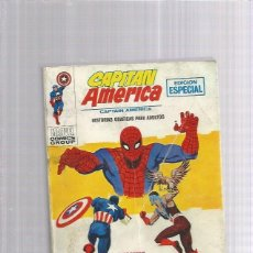Cómics: CAPITAN AMERICA 18 SPIDERMAN MI ENEMIGO. Lote 175832550