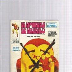 Cómics: EL HOMBRE DE HIERRO 9 EL RELEVO DEL HOMBRE. Lote 175833728