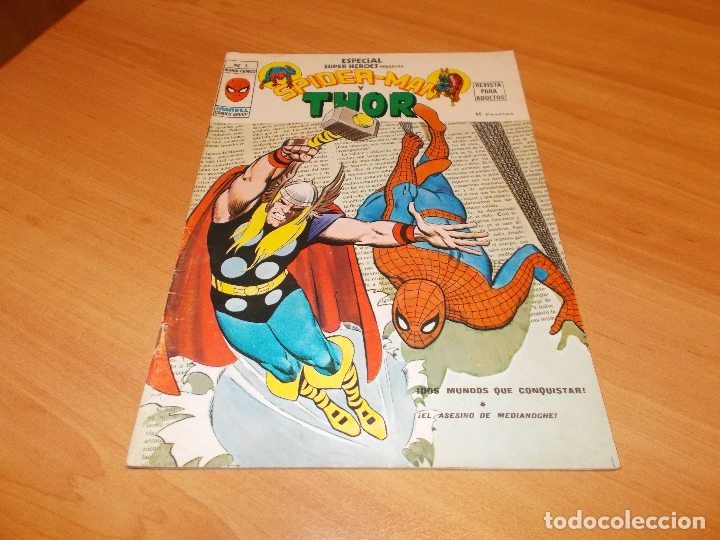 ESPECIAL SUPER HEROES Nº 3 (Tebeos y Comics - Vértice - Super Héroes)