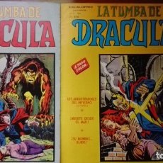 Cómics: LA TUMBA DE DRACULA VOL2 NºS 3 Y 4. Lote 176048080