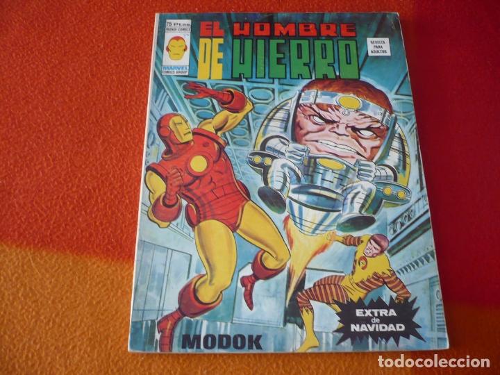 EL HOMBRE DE HIERRO EXTRA DE NAVIDAD 1974 MODOK ¡BUEN ESTADO! VERTICE MUNDO COMICS (Tebeos y Comics - Vértice - Hombre de Hierro)