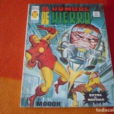 Cómics: EL HOMBRE DE HIERRO EXTRA DE NAVIDAD 1974 MODOK ¡BUEN ESTADO! VERTICE MUNDO COMICS. Lote 176048135