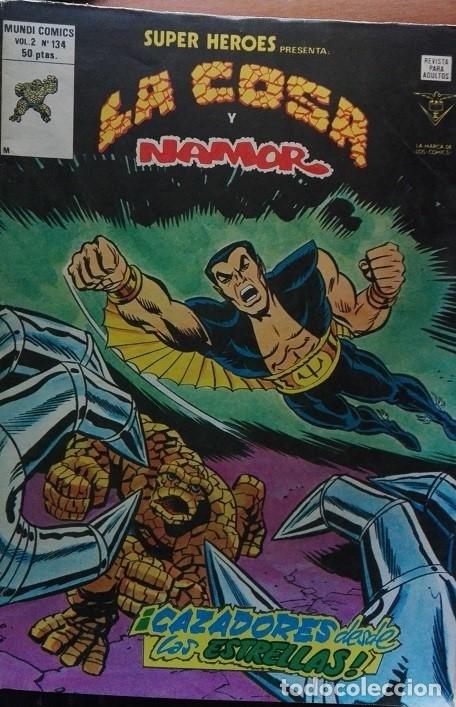 LA COSA Y NAMOR MUNDICOMICS VOL2 Nº 134 (Tebeos y Comics - Vértice - Super Héroes)
