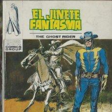 Cómics: EL JINETE FANTASMA Nº 4 - UN HOMBRE LLAMADO HURACAN - VERTICE V.1 1973 - MUY DIFICIL - BIEN. Lote 176081868